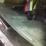 Atacaron a Paul Gillman y rompieron el vidrio de su carro