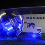 Colocan escultura de la artista venezolana Sydia Reyes en el Maracaná de Panamá
