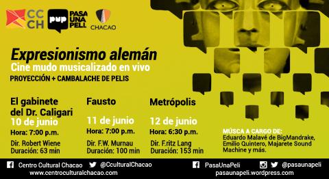 Ciclo de Cine Mudo Musicalizado en Vivo en el CCCH