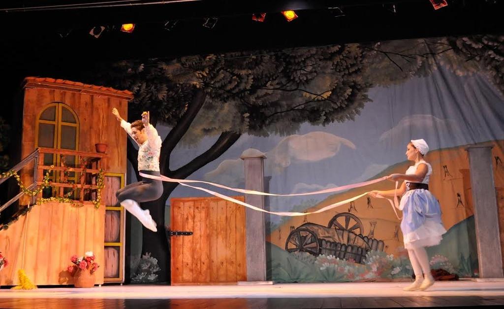 """Ballet de la mar toma la escena con  """"La Fille Mal Gardée"""""""