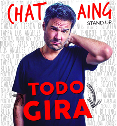 """Luis Chataing  llevará """"TODO GIRA"""" a Colombia"""