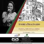Andrea Imaginario trae su Noche de Fados al Transnocho Cultural
