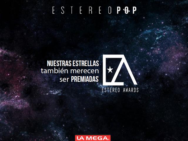 Chino y Nacho, y Charliepapa son los más nominados de los Estereo Awards 2016
