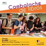 Realizan primer Cambalache de libros del año en la Plaza Los Palos Grandes
