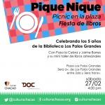 Cultura Chacao celebra el cumpleaños de la Biblioteca LPG con Pique Nique – Fiesta de libros