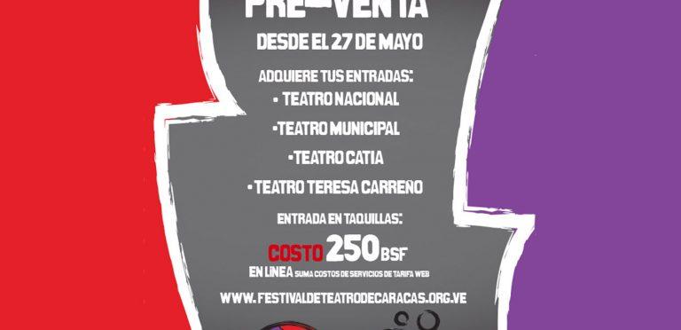 """""""Ya vamos a dar sala"""" Pre venta de entradas Festival de Teatro de CCS"""