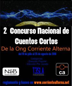 CONCURSO NACIONAL DE CUENTOS CORTOS DE CORRIENTE ALTERNA. 3jpg
