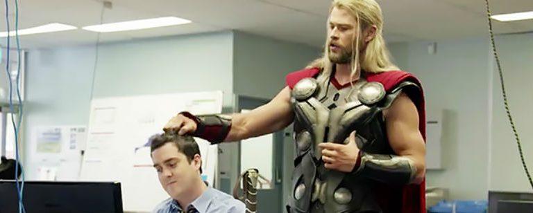 """Esto fue lo que hizo Thor durante """"Civil War"""""""