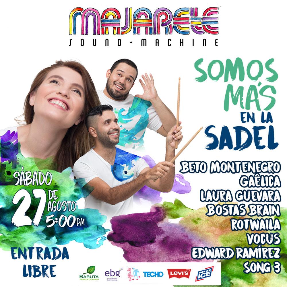 """Majarete Sound Machine invita al evento """"Somos Más en la Sadel"""""""