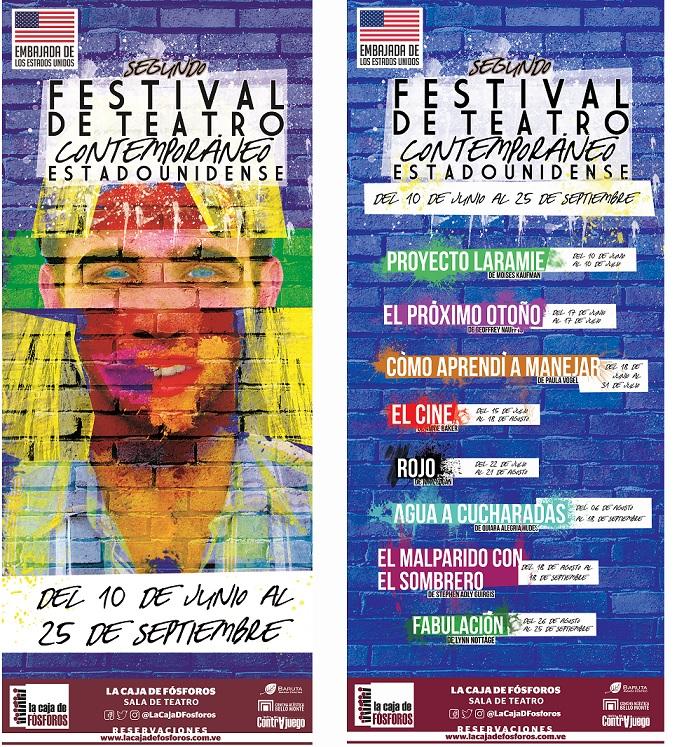 """""""Fabulación"""" finaliza la programación del II Festival de Teatro Contemporáneo Estadounidense"""