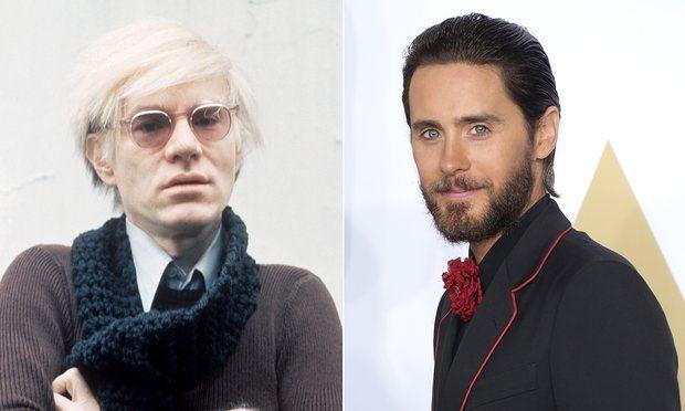 Jared Leto interpretará a Andy Warhol en una nueva biopic sobre el artista