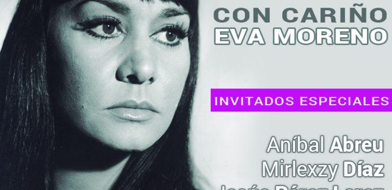 """Homenaje """"Con cariño… Eva Moreno"""" en la Fundación Casa del Artista"""