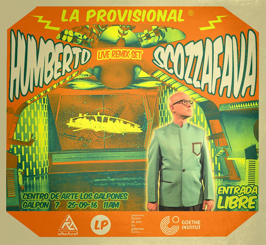 Humberto Scozzafava se presentará este domingo en Los Galpones