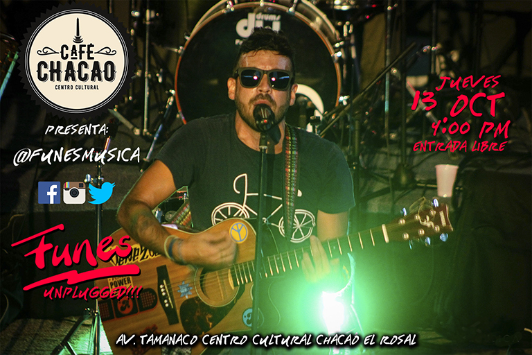 Café Chacao se llena de música