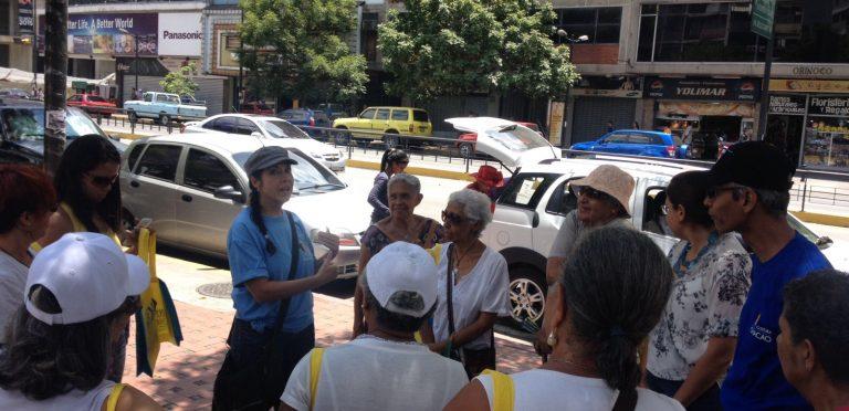 Se realiza nueva Ruta Histórica por Chacao Moderno y Contemporáneo