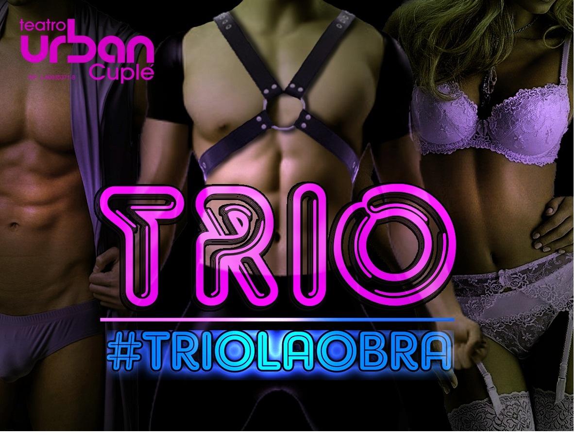 La sala Urban Cuplé se prepara para #TRIOLAOBRA