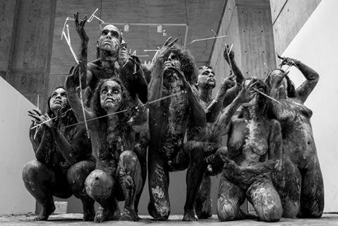 """Clausura: Taller de Bodypaint en la Galeria de Arte Nacional, con el título """" MERIENDA"""""""