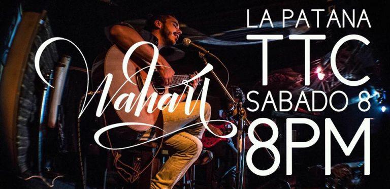 Este sábado 08 de octubre WAHARI en La Patana Cultural del TTC