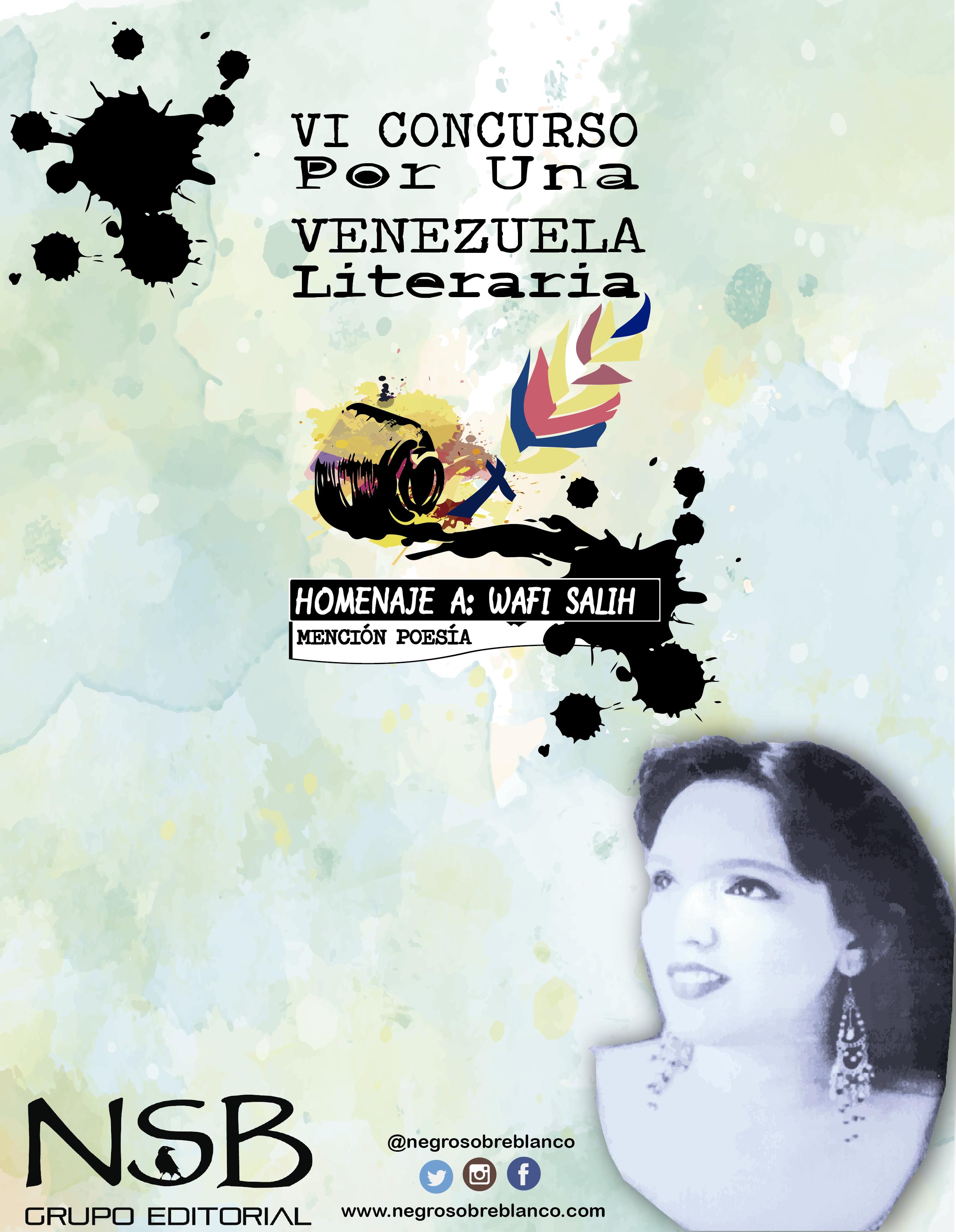 VI concurso por una venezuela literaria