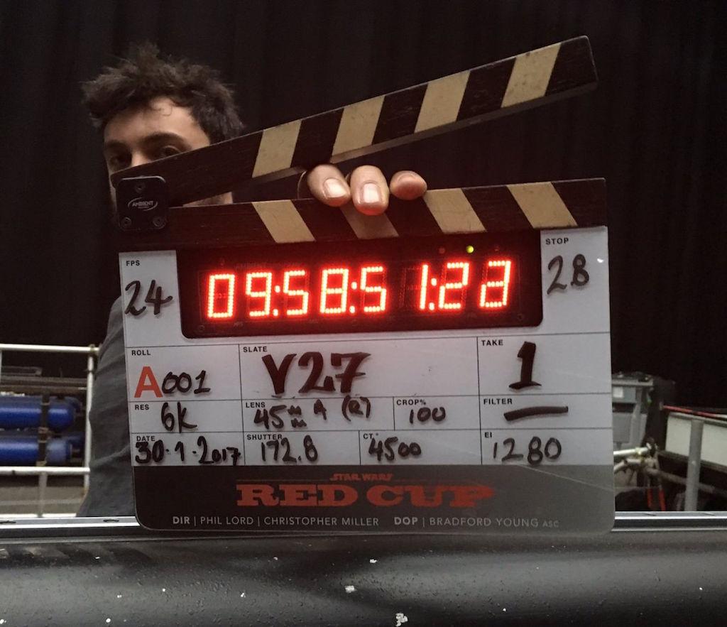 Primera foto del elenco de la película de Han Solo