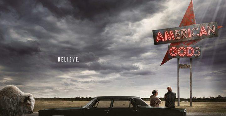 """Nuevos pósters de """"American Gods"""" una de las series más esperadas del año"""