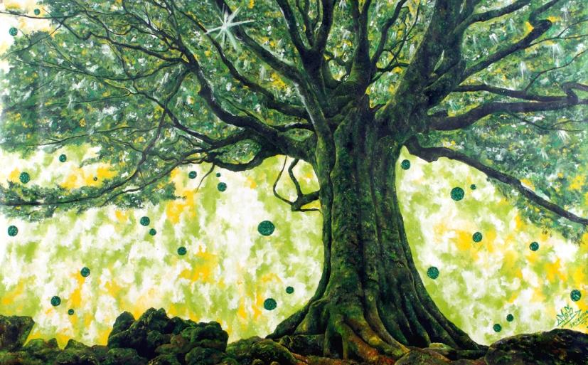 Los árboles de Alejandro Amos protagonizan exposición en la Galería de Arte Florida
