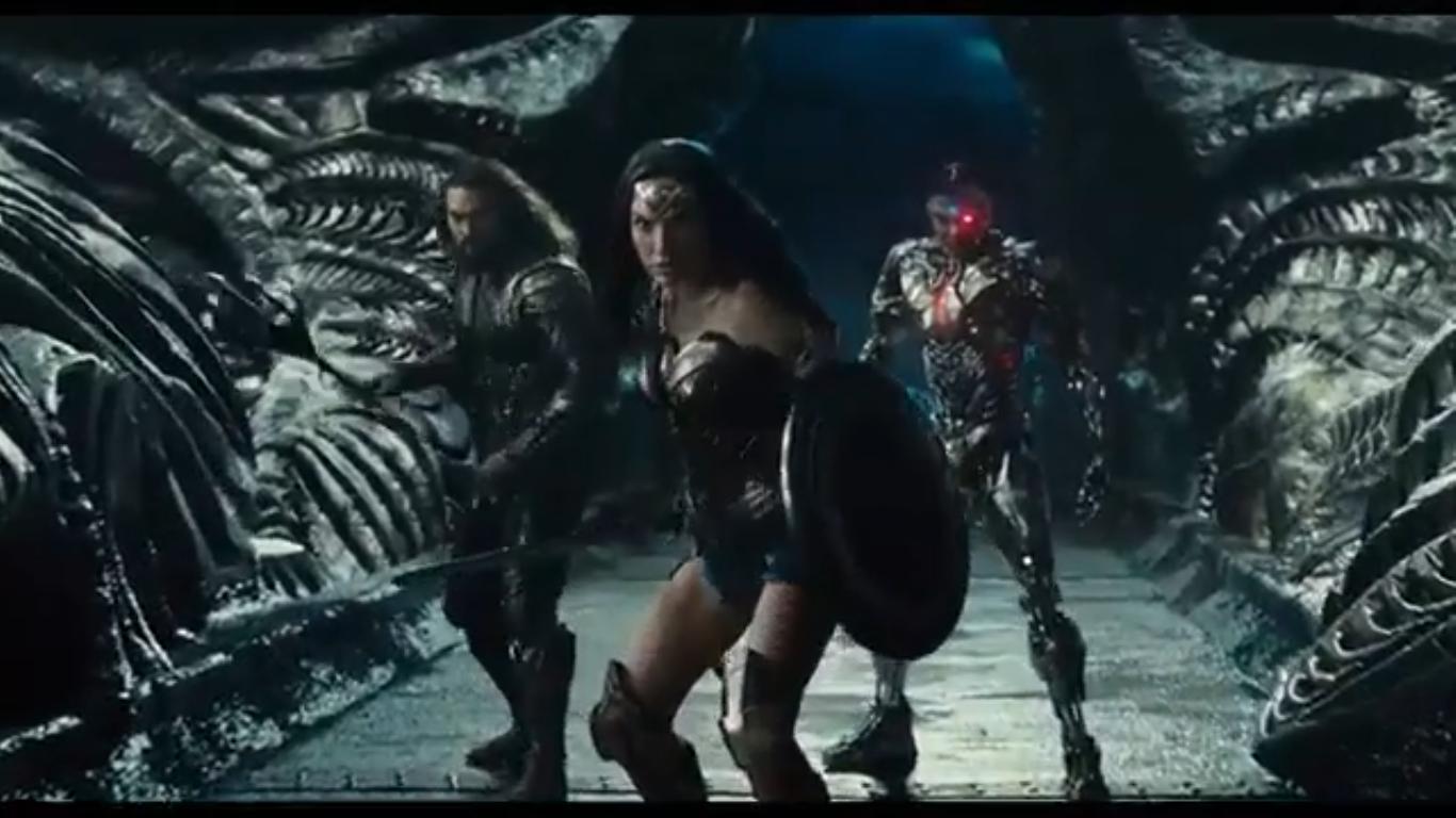 Aquí está el primer trailer de la Justice League