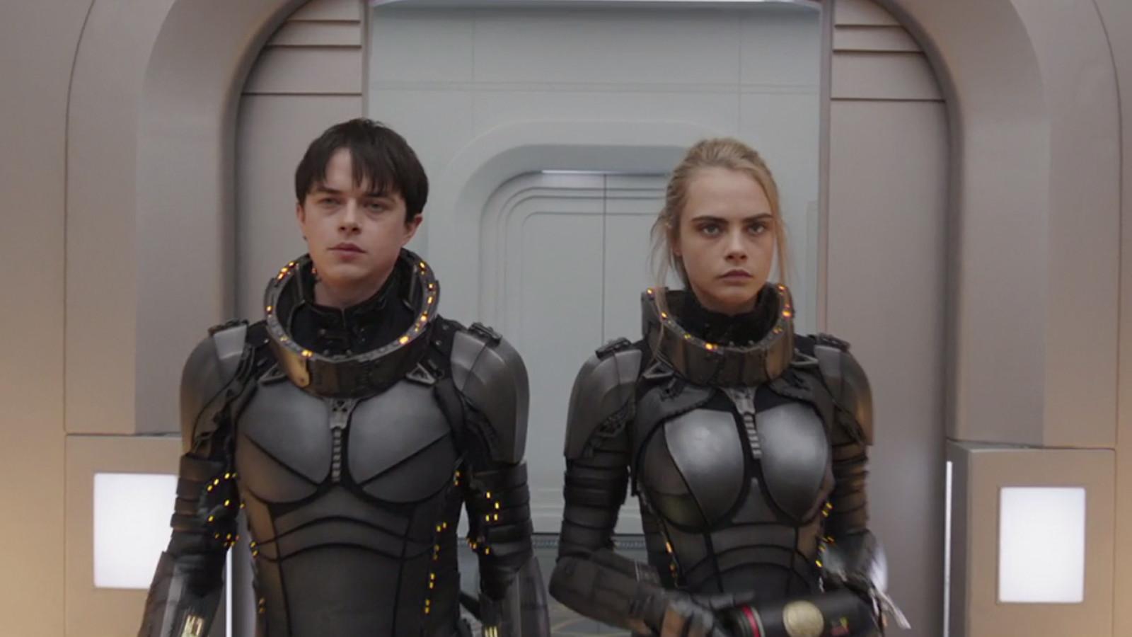 """Nuevo trailer de """"Valerian y la ciudad de los mil planetas"""" que te dejará con la boca abierta"""
