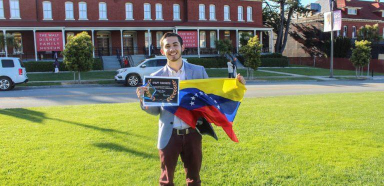El venezolano Patricio Silva ganó premio de animación en Walt Disney