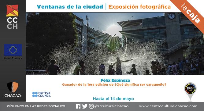 """Exposición """"Ventanas de la Ciudad"""" clausura con actividades en el Centro Cultural Chacao"""