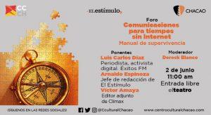 17-06-02 Foro Comunicaciones para tiempos sin Internet