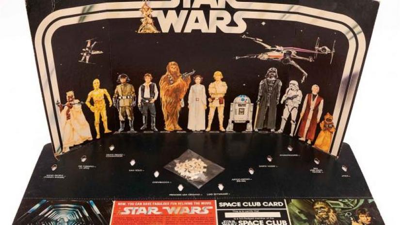 Con una caja vacía: así comenzó la revolucionaria industria de Star Wars