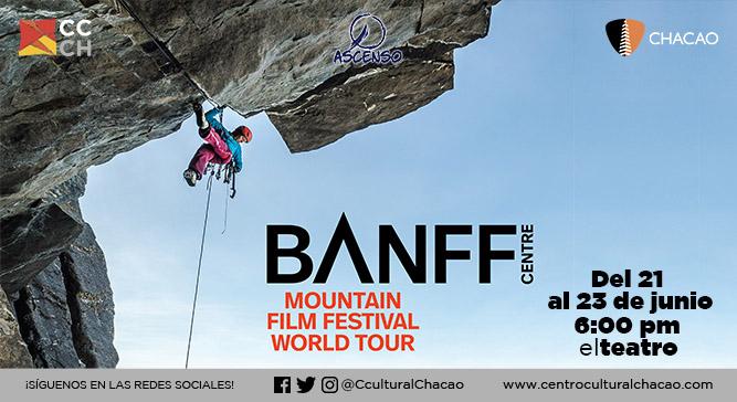 Cine de montaña llega al Centro Cultural Chacao con el 15° Banff Mountain Film Festival