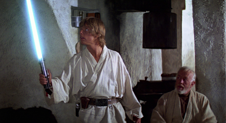 El sable láser de Luke Skywalker será subastado