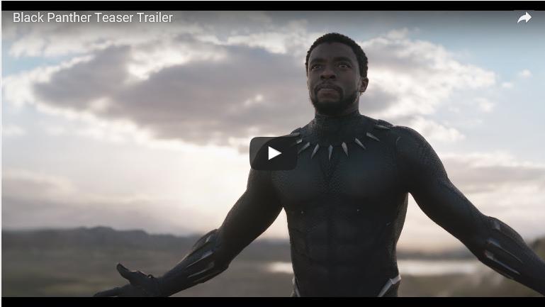 Mira el primer teaser trailer de Pantera Negra