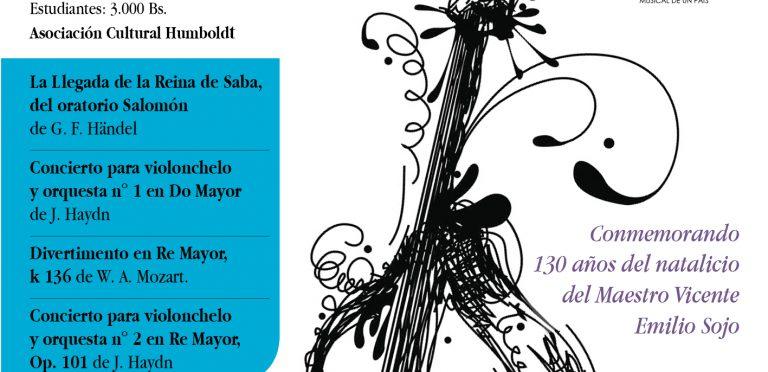 Los solistas de la Sinfónica de Venezuela se presentarán en concierto este sábado