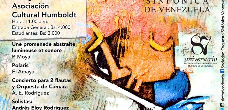 Flautas de la Orquesta Sinfónica de Venezuela estrenan piezas contemporáneas