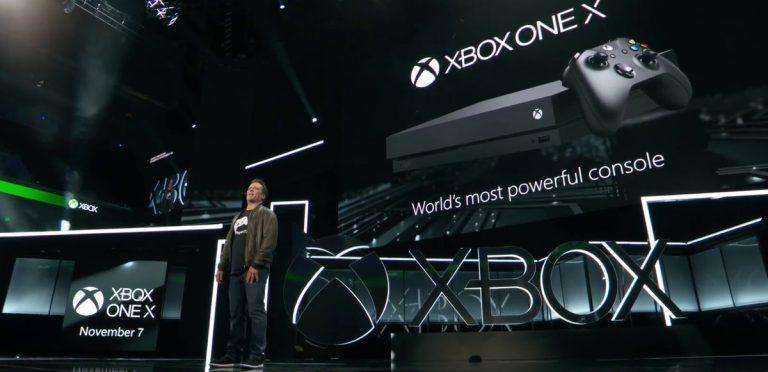 El Xbox One X será la consola más poderosa del mundo