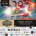 """La Comedia Teatral """"Dos Manzanas"""" Llega al Teatro Sambil"""