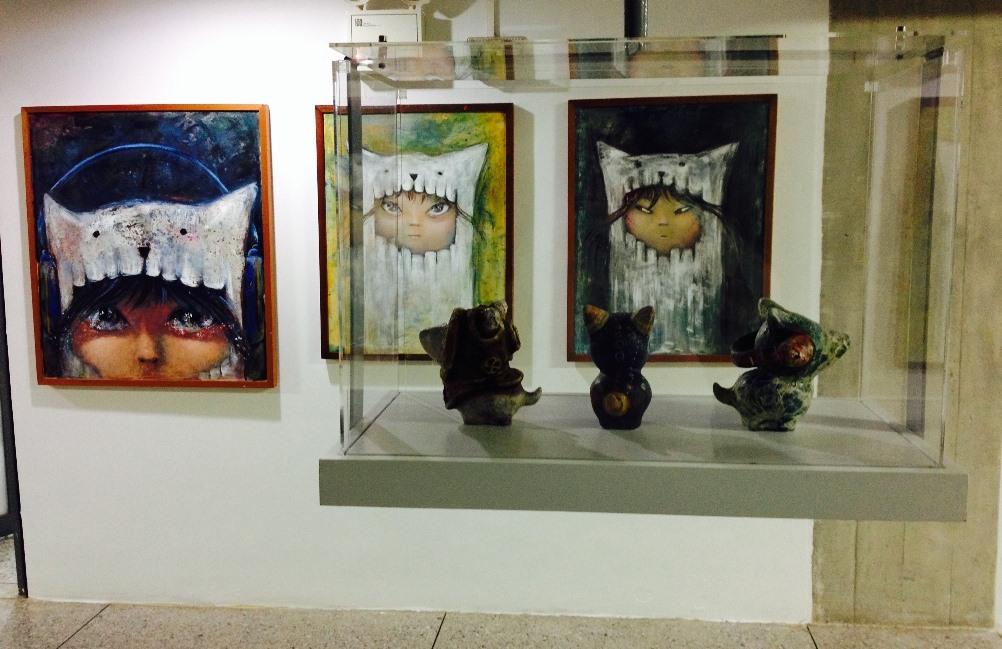 Continúa en exhibición muestra interactiva infantil de Vanessa Balleza en la Biblioteca LPG