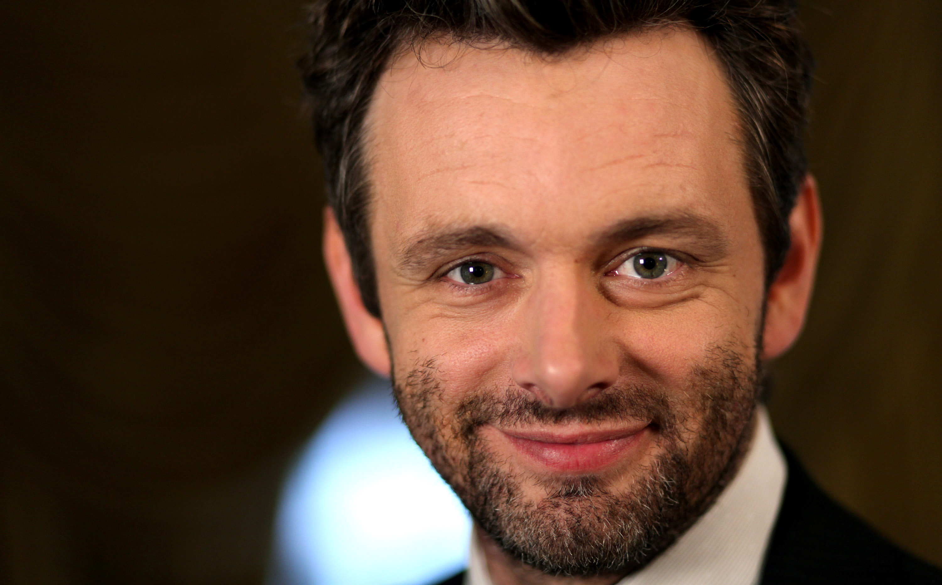 Actor Michael Sheen poses for a portrait in Beverly Hills, Calif. on Tuesday, Oct. 6, 2009. (AP Photo/Matt Sayles)