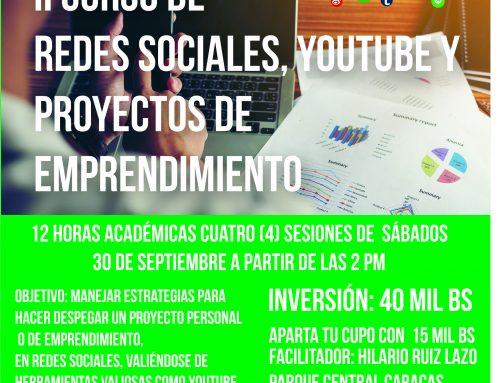 Continuando su ciclo de talleres  Corriente Alterna Presenta: Redes Sociales, Youtube y proyectos de emprendimiento_2.0