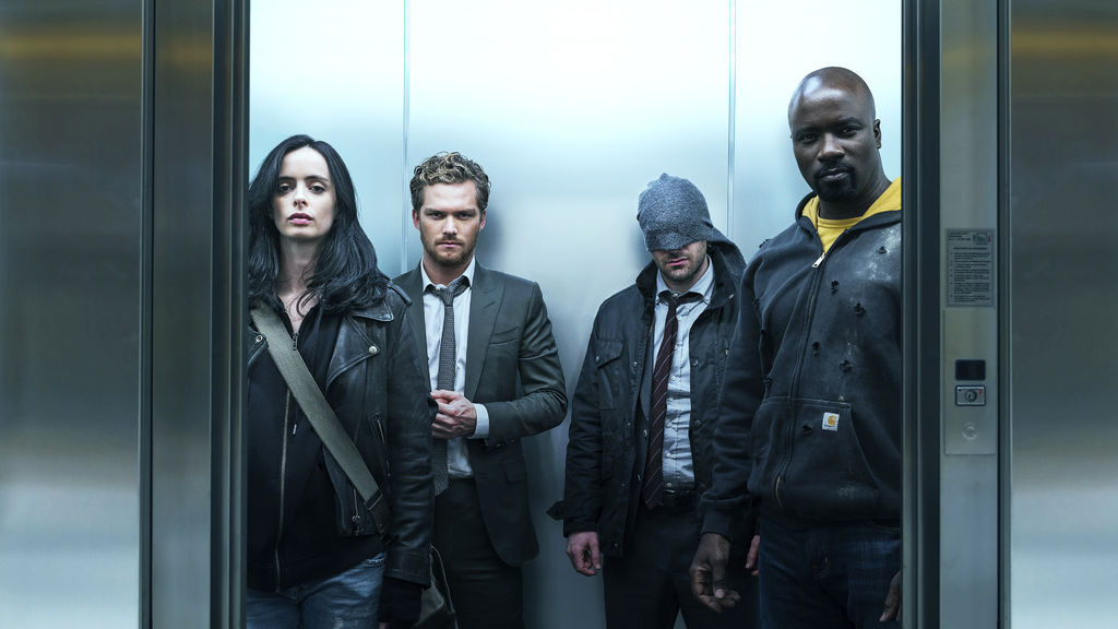 """The Defenders"" es la serie menos vista de Netflix"