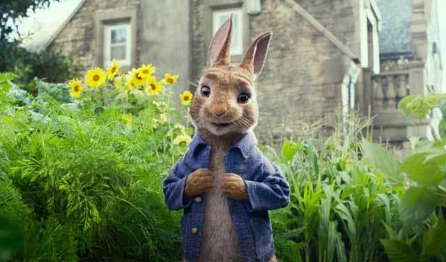 Primer trailer de Peter Rabbit, el conejo de chaqueta azul