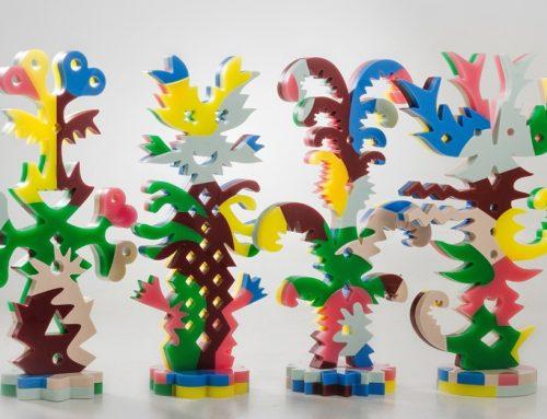 Salvador Güida expone su conformación lúdica en la Galería Universitaria de Arte de la UCV