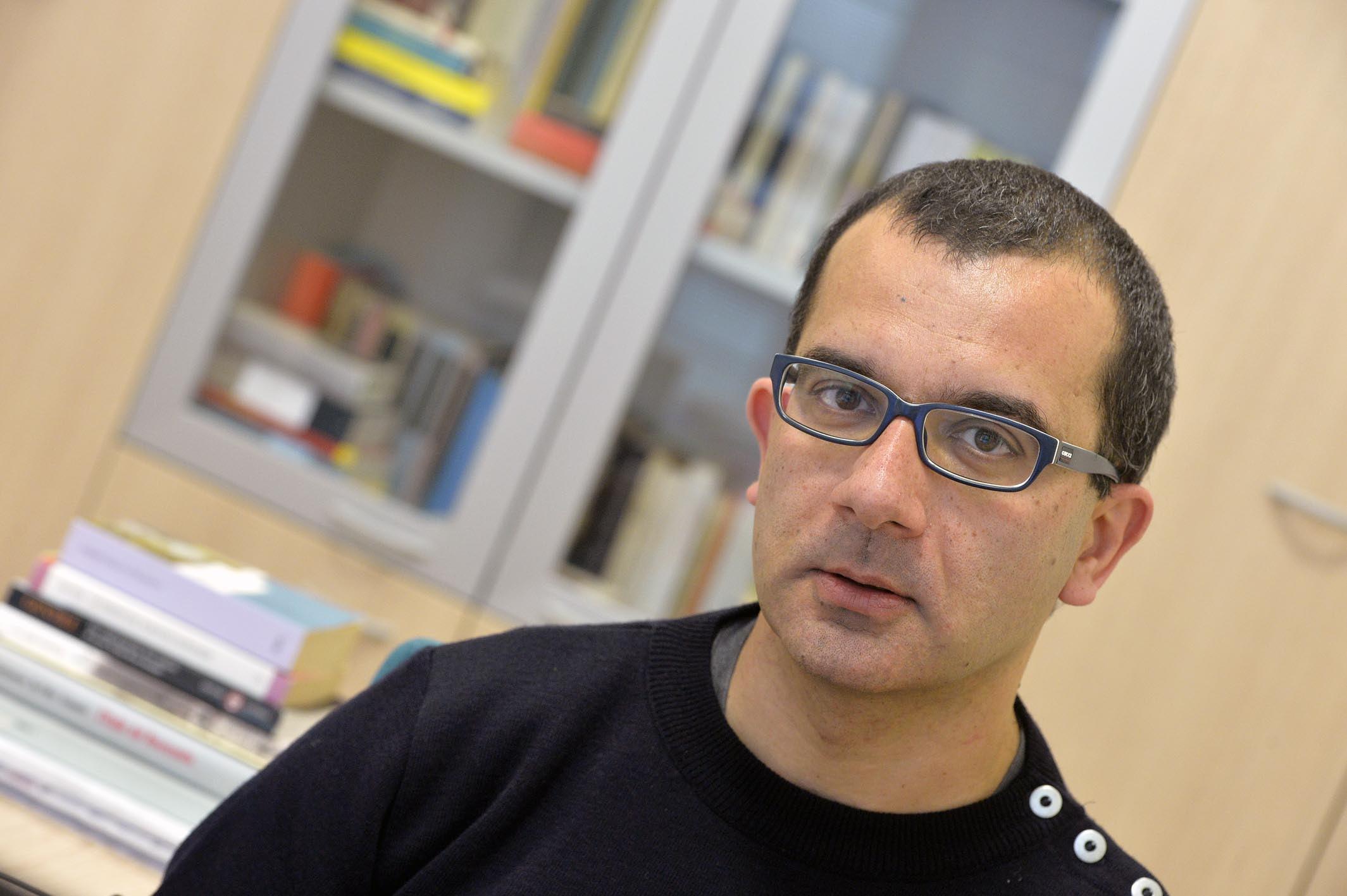 CLAUDIO GIUNTA UNITN / autore del libro ESSERE # MATTEO RENZIFOTO DI ALESSIO COSER