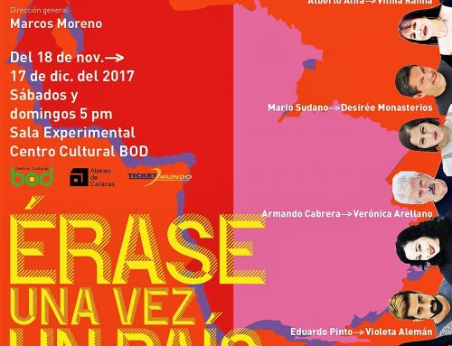 """""""Erase una vez un país"""", tragicomedia de Vilma Ramia, agrupa 4 obras breves relacionadas a 4 períodos crucialesenla historia de Venezuela"""