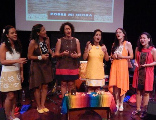 Las voces de Atapaima le cantan a la navidaden el Centro Cultural Chacao