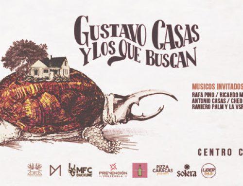 Gustavo Casas y Los Que Buscan cierran el año  en el Centro Cultural Chacao