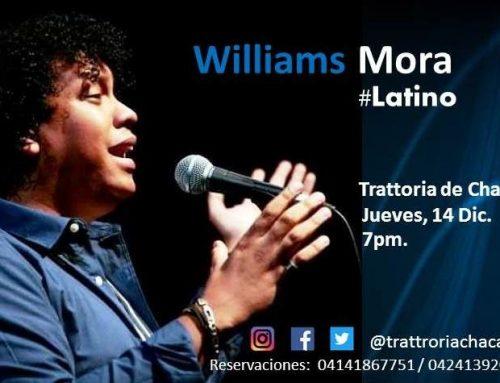 Williams Mora presenta #Latino en la Trattoria de Chacao